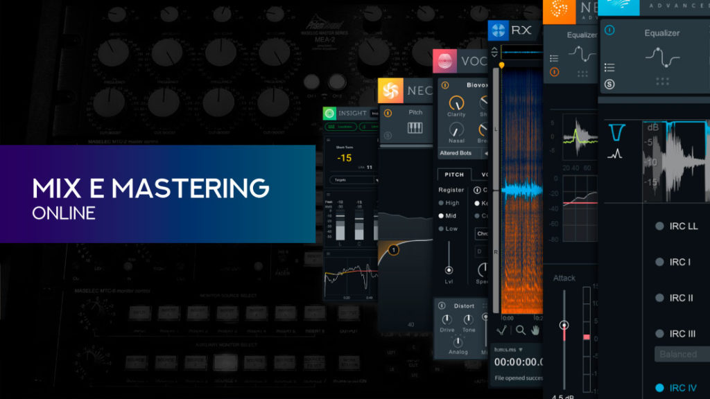 mix e mastering online