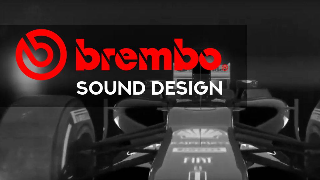 musica video su brembo progetto di sound design