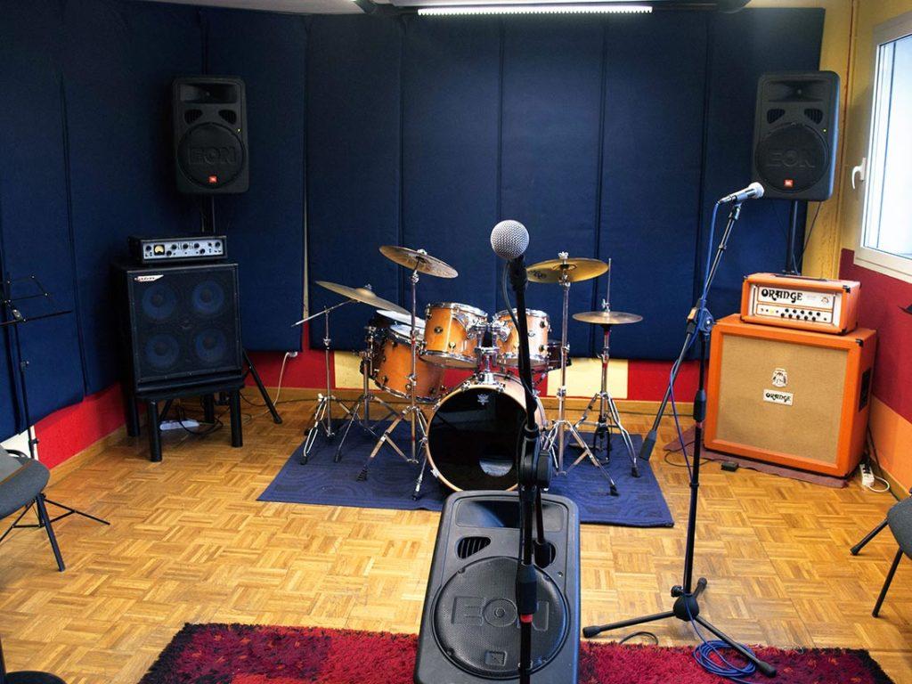 affitto sala prove musica