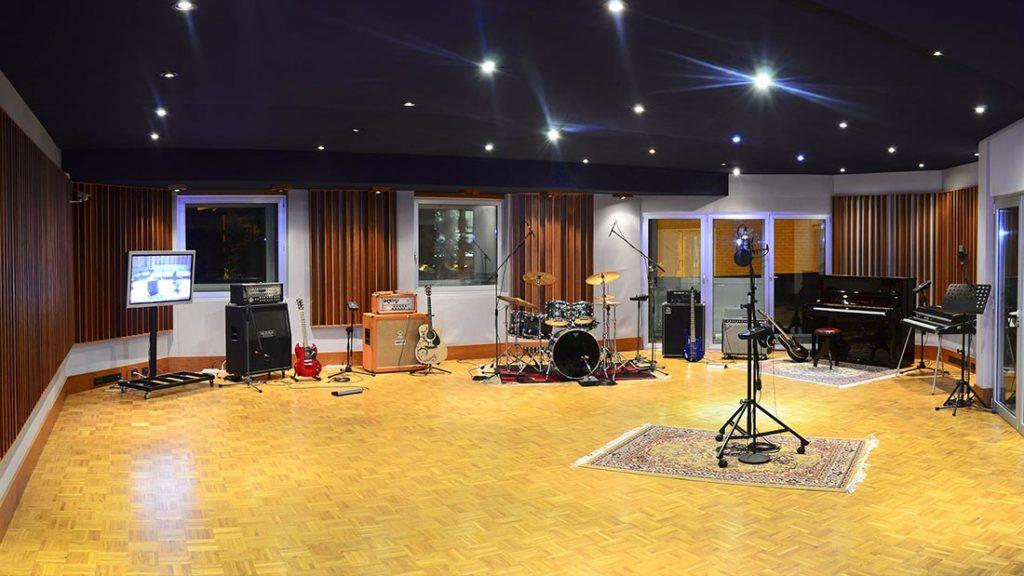 sala ripresa per produzioni musicali foto sala e strumentazione in affitto