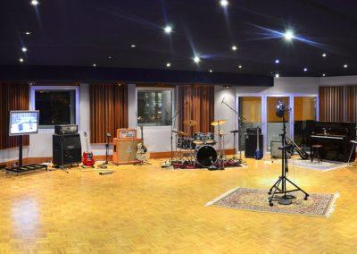 sala ripresa per produzioni musicali