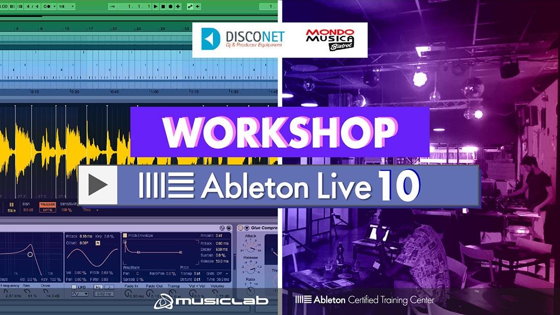 workshop ableton live 10 mondomusicabistrot