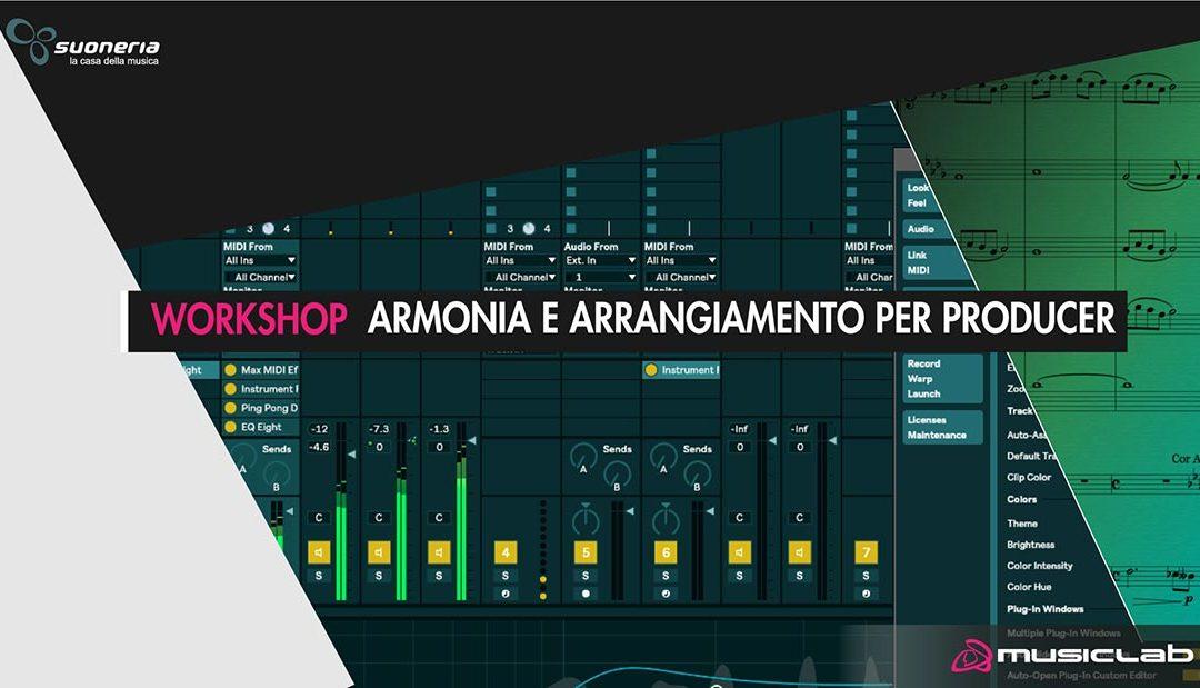 Workshop Armonia e Arrangiamento per producer
