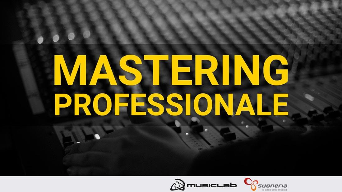 workshop di mastering professionale