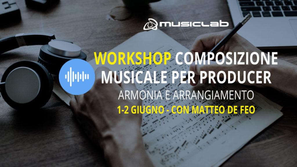 workshop di composizione musicale armonia e arrangiamento evento