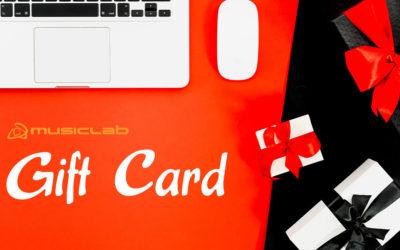 Lezioni individuali con le Gift Card di Musiclab