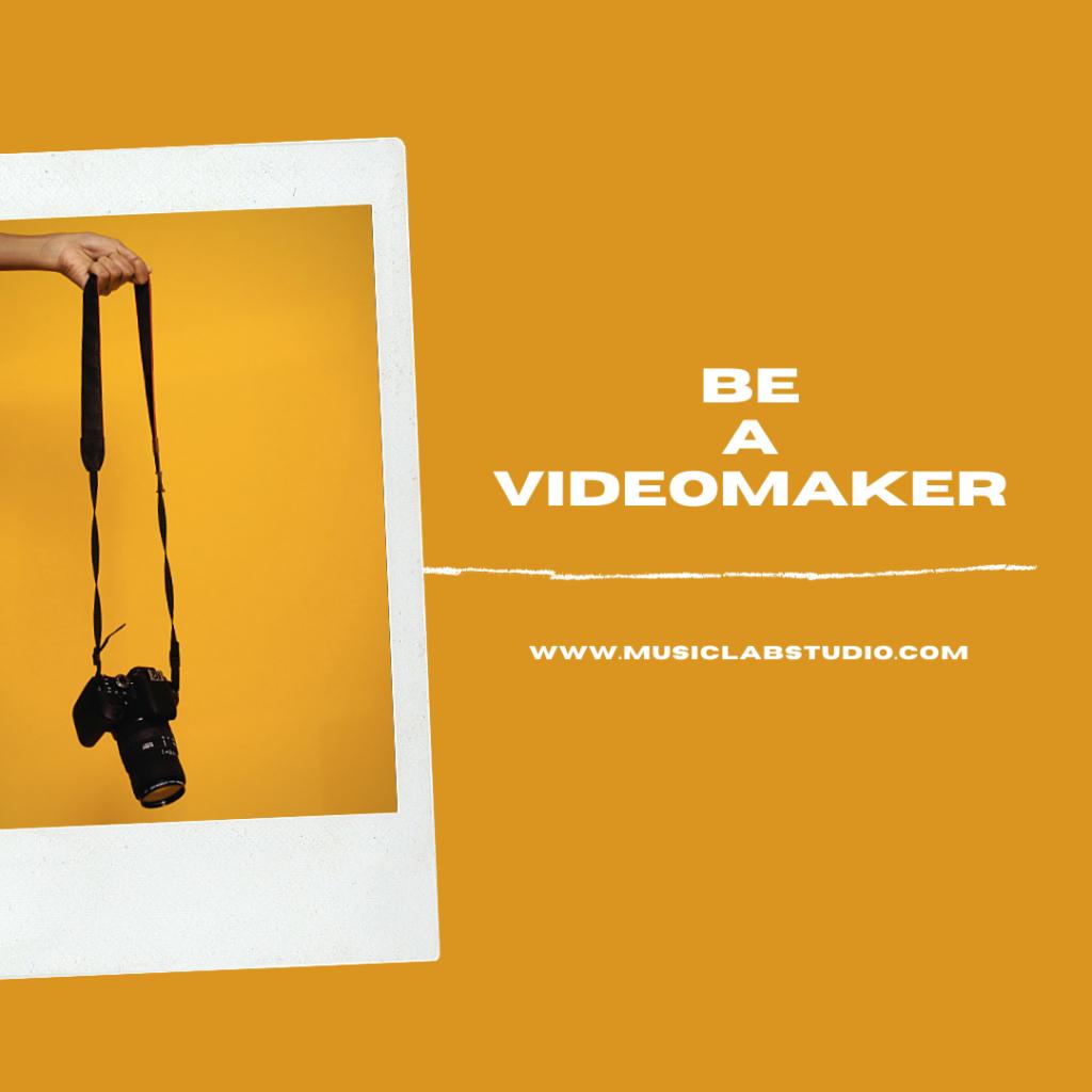 lezioni per diventare un videomaker be a videomaker