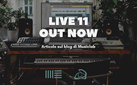Ableton Live 11 tutte le novità sul nuovo programma di produzione di musicas elettronica