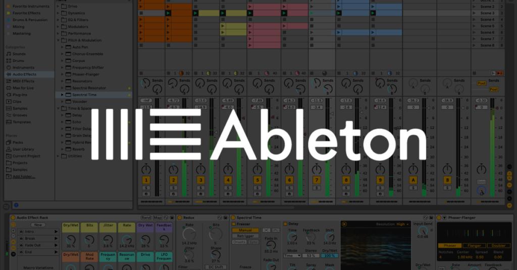 Ableton Live 11 software di produzione musicale