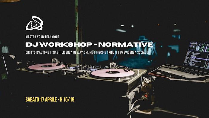 workshop 17 aprile - workshop dj