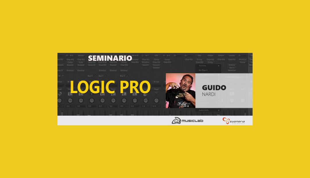 Seminario – Logic Pro con G.Nardi