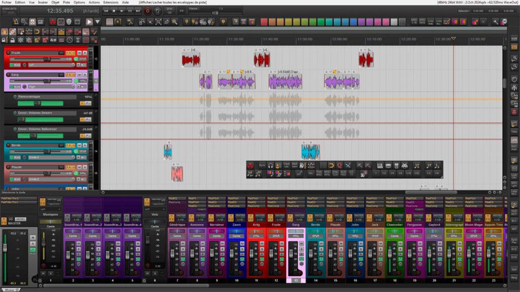 cockos reaper è il software daw preferito da tecnici audio e ingegneri del suono