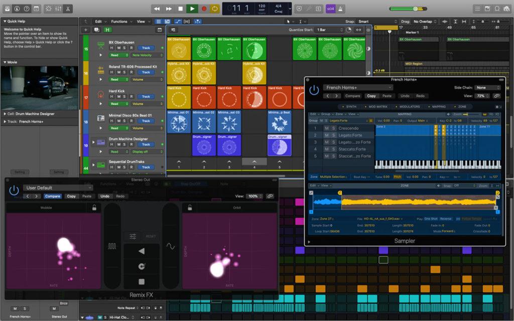 programmi daw apple logic pro sistema completo per tutte le fasi di produzione